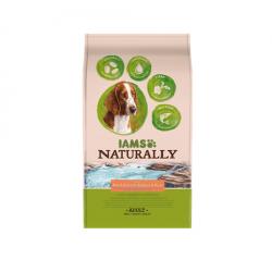 Iams Naturaly-Adult Salmon du North & Rice (1)