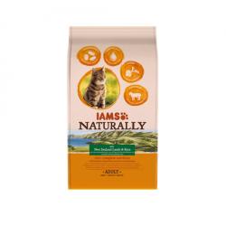 Iams Naturaly-Chat Adult Agneau Nouvelle-Zélande et Rice (1)
