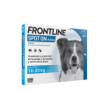 Frontline-10-20 kg Pipettes Antiparasitaires Chien (1)