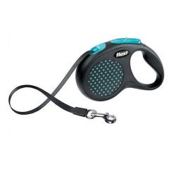 Flexi-Laisse Extensible Flexi Design Bleu pour Chien (1)