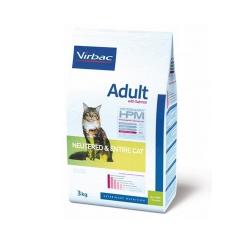 virbac-HPM Feline Adult Saumon pour stérilisé et non stérilisé (1)