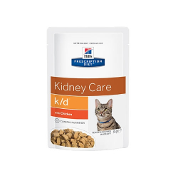 Hills Prescription Diet-PD Feline k/d avec Poulet 85gr. (1)