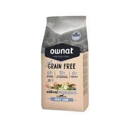 Ownat Just Grain Free-Adult d'Agneau pour chien (1)