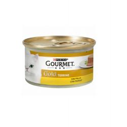 Gourmet Gold-Terrine au Poulet 85gr. (1)