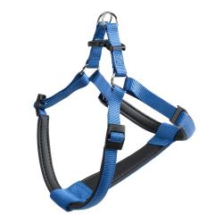 Arnes Nylon Daytona P para perros Azul Ferplast