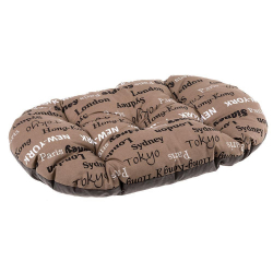 Cama Relax perro y gato 100 12 Cities Brown Ferplast