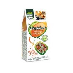 Crunchy's de verduras para roedores Hamiform