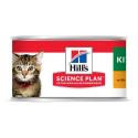 Hills-SP Feline Kitten Mousse (Boîte) (1)