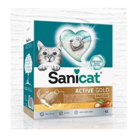 Sanicat Gold sable pour chats