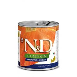 Farmina ND Dog Pumpkin Puppy Cordero comida húmeda para cachorros 6x285grs