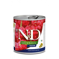 Farmina ND Dog Quinoa digestion comida húmeda para perros 12x80grs