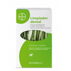 Sano&Bello hygiène dentaire pour chien de Bayer 140grs.
