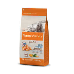 Nature's Variety pienso Selected Medium/Maxi Salmón noruego