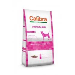 Calibra dog grain free junior small pato pienso para perros