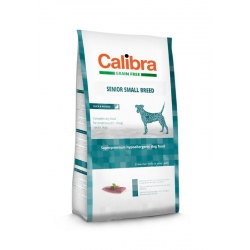Calibra dog grain free senior small pato pienso para perros