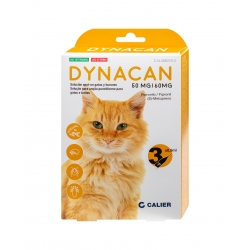 Dynacan pipettes antiparasitaires pour chats
