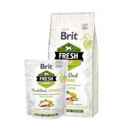 Brit fresh active run work pato mijo pienso para perros