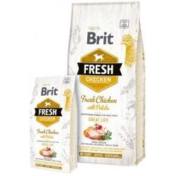 Brit fresh adult great life pollo patata pienso para perros