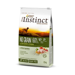 True Instinct-No Grain Medium-Maxi Adult Poulet (1)