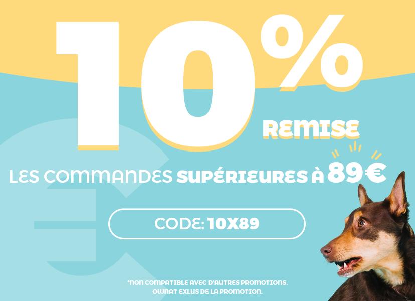 10% en toda la web